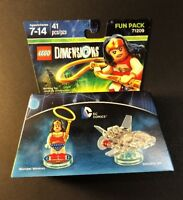 LEGO DIMENSIONS Fun Pack 71209 [ DC Comics / Wonder Woman / Invisible Jet ] NEW