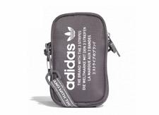 adidas Originals NMD Pouch Bag Mini Gray Zipper Pocket 3 Stripes Golf CE5622