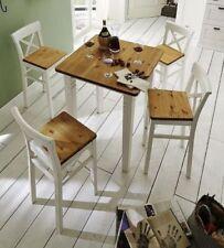 Quadratische Tisch- & Stuhl-Sets aus Kiefer