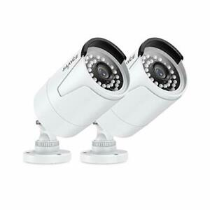 SANNCE POE CCTV Camera 5MP Indoor Outdoor 3.6mm Lens 36pcs IR-LED IP66