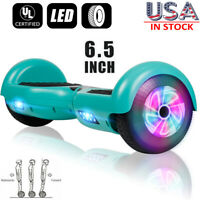 """6.5"""" LED Electric Hoverboard Self Balancing Scooter No Bag UL2272 for Christmas"""