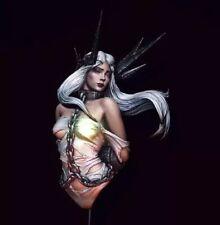 1/10 BUST Resin Figure Model Kit Sexy Girl Woman Captive Fallen Angel Unpainted