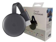 Google Chromecast 3rd Gen HDMI Media Streaming Latest Version New