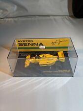 Ayrton Senna, Limited Edition 1 of 987, Lotus 99T, F1 1:43 Minichamps w/ DECALS