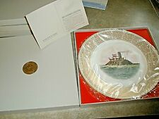 New Lenox Collector Series Plate Trustees of the White House The Merrimac