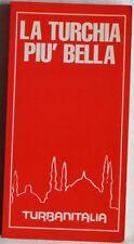 LA TURCHIA PIU BELLA GUIDA TURISTICA TCI TURKEY COMPLETA 1990