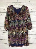 UMGEE USA Boutique Boho Festival Tunic Top Blouse Shirt  ~ Women's Size M Medium