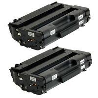 2 Pack Black High Yield Toner For Ricoh Aficio SP 3510SF 3500SF 3510DN SP-3400HA