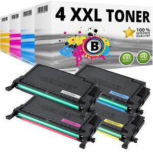 4x XL TONER für Samsung CLP620ND CLP670N CLP670ND CLX6220FX CLX6250FX Set