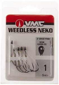 """VMC """"Ike Approved"""" Weedless Neko Hooks, Choice of Sizes"""