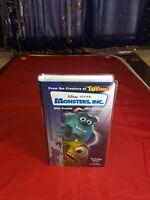 Disney Pixar Monsters, Inc VHS 2002
