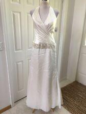 NWT Galina Signature Wedding gown Ivory, halter 6