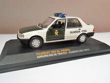 1/43 COCHE PEUGEOT 309 GL PROFIL  GUARDIA CIVIL  POLICE CAR 1:43 alfreedom