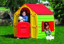 Childrens Playhouse Wendy House Magical Multicolour Play House By Starplast Red