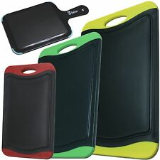 Chefcoo Cutting Board Set Stylish Color Plastic Non-Slip Kitchen Chopping Block