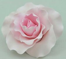 Extra Large Pink Rose Sugar flower wedding birthday cake decoration top
