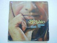 MANHAR UDHAS BEZUBAN 1981 RARE LP RECORD Orig vinyl india hindi GHAZAL VG+