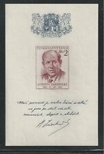 CHECOSLOVAQUIA #678 MNH President Zapotocky