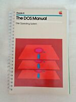 Apple II DOS Manual Disk Operating System Computer Software Installation Guide