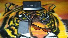 PRADA~Rose Tinted Sunglasses~Black/Red~Vintage