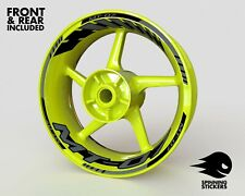 """Wheel Stickers for Yamaha MT-07 MT07 Rim Tape Motorcycle Decals Graphics 17"""""""
