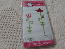 Sizzix Hello Kitty Medium Die Retired 655865 FLOWER W/STEMS by Sanrio NIP
