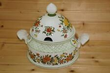Villeroy & Boch SUMMERDAY Round Covered Vegetable CHIPPED LID | Germany
