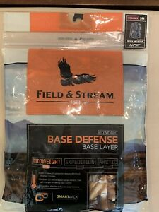 Field & Stream Realtree Midweight Base Defense Mock Neck Top Women's Small