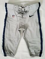 Dallas Cowboys NFL Team Issued Silver Football Pants - Size 36 Short wBelt 2014