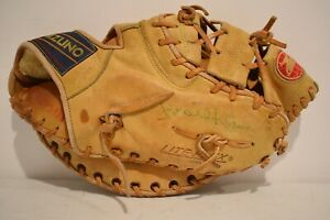 "Mizuno FB-5 Baseball Catching Mitt Lite-Flex - Multi Hinge 12"" Signed"