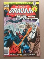 TOMB of DRACULA #50 FN 6.0 Silver Surfer MARVEL COMICS Bronze Colan Wolfman
