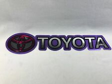 Toyota Car Sticker