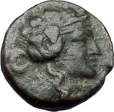 Maroneia in Thrace 148BC Ancient Greek Coin  Nude Dionysos Wine God i47583