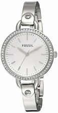 Fossil Women's Classic BQ3162 32mm Silver Dial Stainless Steel Watch