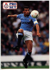 Keith Curle Manchester City #58 Pro Set Football 1991-2 Trade Card  (C364)