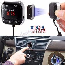 Wireless Bluetooth Car Kit FM Transmitter MP3 Player USB LCD Remote Handsfree US