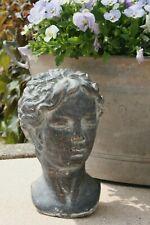 Chic Antique Busto Bianco Nostalgia francese shabby Vintage decorazione