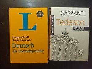 Dizionario Italiano - tedesco Garzanti + Deutsch als fremdsprache (vocabolario)