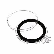 Air-Tite 38mm Black Ring Morgan Silver Dollar Coin Capsules 25 Pack