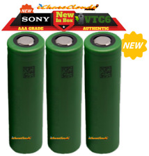 3x Sony 18650 VTC6 3000Mah 40A High Drain Battery Rechargeable Flat Top Cell IMR