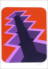 Marko SPALATIN Vintage 1976 Abstract Silkscreen Art Print 23-1/4 x 16