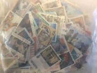 200  SELLOS DE AUSTRALIA TODOS DIFERENTES USADOS.