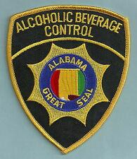 ALABAMA STATE ALCOHOLIC BEVERAGE CONTROL ENFORCEMENT SHOULDER PATCH