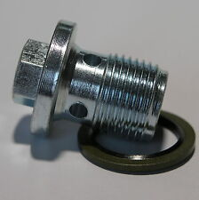 SAAB 9-3 9-5 1.9TID OE Oil Sump Plug & Rondelle 93183669 SP14W
