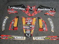 Honda CR125 CR250 2002-2007 Team Bad Boy USA graphics decals set GR1396