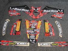 Honda CR125 CR250 2002-2007 Team Bad Boy USA stickers graphique set GR1396