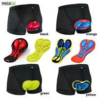 Men's Cycling Underpants Gel Padded Bicycle Inner Shorts Cushion Bike Underwear