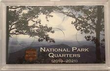 3 x 5 NATIONAL PARK QUARTER - 2010-2021 (6-HOLE) FROSTY CASE ***FREE SHIPPING***