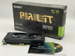 Palit GeForce GTX 1060 Dual 3 GB GDDR5 DVI, HDMI 3x DP PCI-E Video card Palit