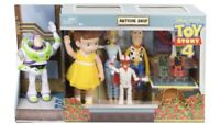 Toy Story 4 Antique Shop Adventure Pack  8 Figure And Doll Set For Birthday Gift